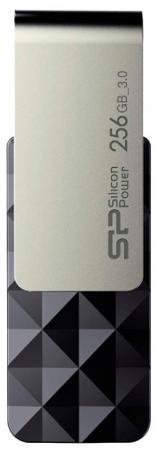 Флеш Диск Silicon Power 256Gb Blaze B30 SP256GBUF3B30V1K USB3.0 черный/серый цены