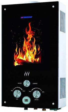 Водонагреватель проточный Edisson Flame F 20 GD (Костер) газовая колонка edisson f 20 gd костер
