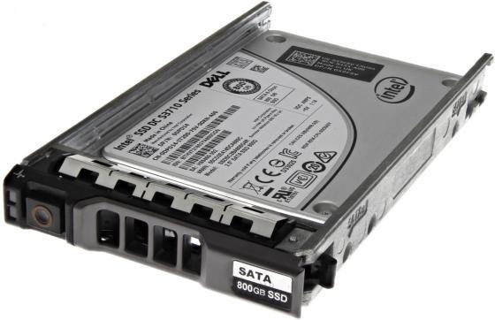 Накопитель SSD Dell 1x800Gb SATA для 13G DPD14 Hot Swapp 2.5 MLC Write Intensive