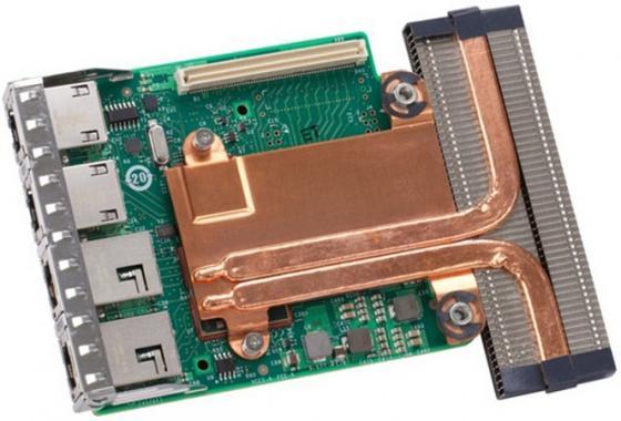 Сетевая карта Dell 540-BBHI X540 DP 10Gb + i350 DP 1Gb Network Daughter Card цена и фото