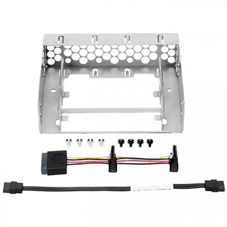 Адаптер HPE 870212-B21 MicroServer Gen10 Slim SATA SSD Enb Kit блок питания hpe 874009 b21 550w ml110 gen10 atx kit