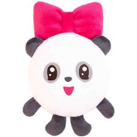 Мягкая игрушка-грелка панда МЯКИШИ Малышарики Пандочка 25 см плюш синтепух