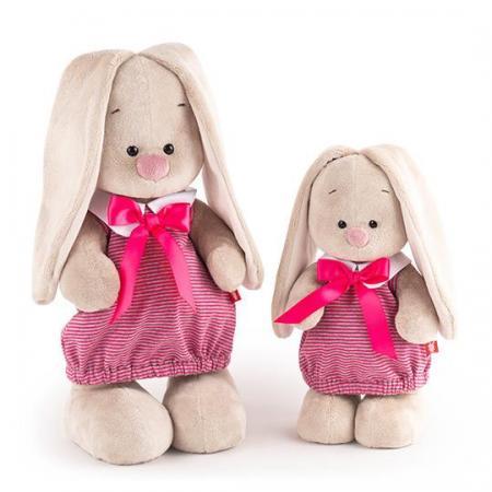 Мягкая игрушка BUDI BASA StS-257 Зайка Ми в платье в полоску (малая)