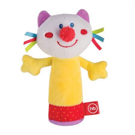 Погремушка HAPPY BABY 330358 CHEEPY KITTY цены онлайн