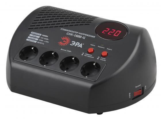 ЭРА Б0031073 СНК-1500-Ц Стабилизатор напр. компакт, ц.д., 160-260В/220В, 1500ВА
