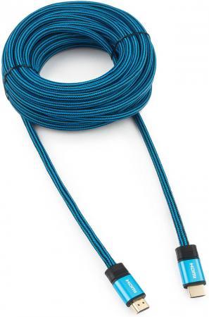Кабель HDMI 10м Cablexpert CC-G-HDMI01 круглый синий все цены