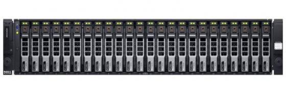Дисковая полка Dell PowerEdge MD1420 x24 2.5 SAS 2x600W PNBD 3Y /2x2m Cab SAS SFF-8644 /H830 LP 2GbNV (210-ADBP-7) дисковая полка dell pv md1220 210 30718 41