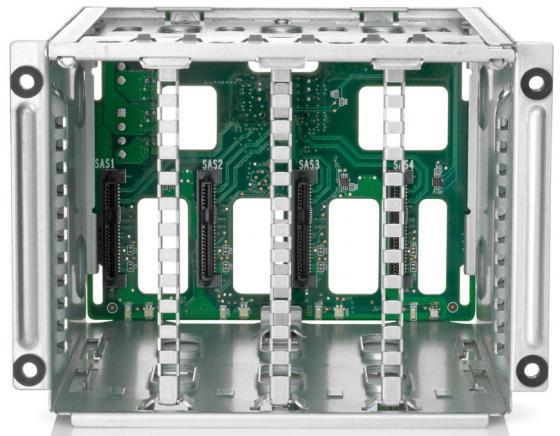 Корзина для жестких дисков HPE 874567-B21 ML350 Gen10 4LFF Non Hot Plug Drive Kit цена