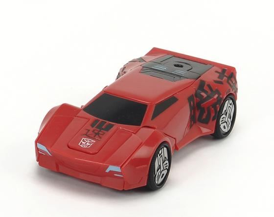 Автомобиль Dickie Трансформер Sideswipe красный 3113001 transformers трансформер combiner force sideswipe