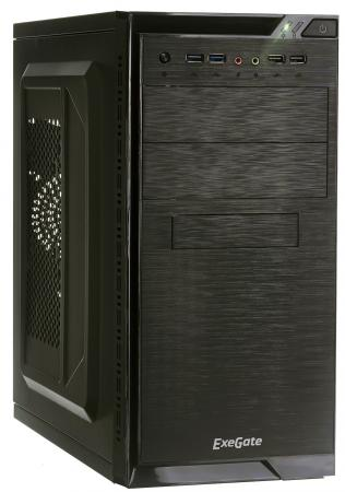 Корпус microATX Exegate QA-412U 450 Вт чёрный EX272747RUS цена
