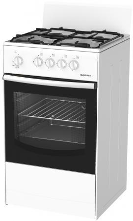 Газовая плита DARINA S GM441 001 белый газовая плита darina s gm441 001 b коричневый