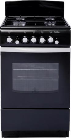 Газовая плита De Luxe 040.36г.кр. черный
