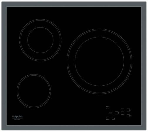 Варочная панель электрическая Ariston HR 603 X черный цена и фото