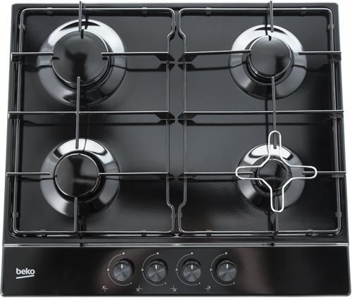 Варочная панель газовая Beko HIAG 64223 B черный цена и фото
