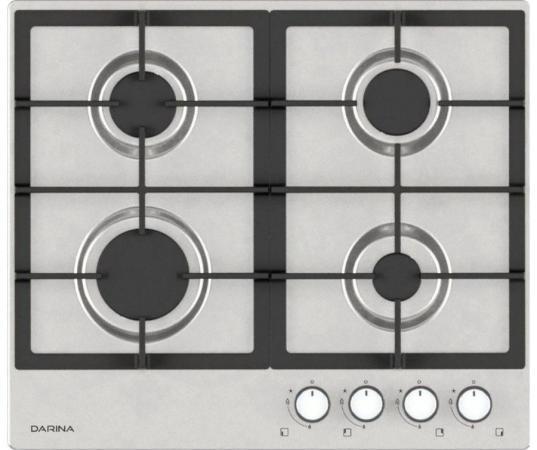 Варочная панель газовая DARINA 1T3 BGM341 11 X3 серебристый
