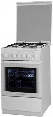 Газовая плита De Luxe 506040.03г(кр) ЧР белый
