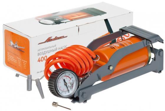 Насос воздушный AIRLINE PA-400-02 400 400см3 съемный манометр, ножной, механический цена