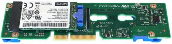 Адаптер Lenovo 7Y37A01092 ThinkSystem M.2 Enablement Kit адаптер lenovo 7y37a01086 thinksystem raid 930 24i 4gb flash pcie 12gb