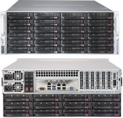 Корпус SuperMicro CSE-847BE1C-R1K28LPB 2x1280W черный цена