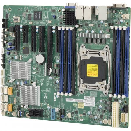 Материнская плата Supermicro MBD-X10SRH-CLN4F-O Socket 2011-3 C612 8xDDR4 1xPCI-E 16x 1xPCI-E 4x 4xPCI-E 8x 10 ATX Retail мат плата для пк supermicro mbd x10srl f b socket 2011 3 c612 8xddr4 3xpci e 4x 4xpci e 8x 10xsataiii atx