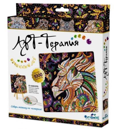 Мозаика Алмазные узоры Огненный Лев Арт-терапияарт набор для творчества оригами арт терапия мозаика алмазные узоры лотос 02459