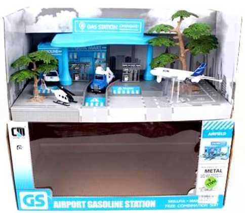 Набор Наша Игрушка Автозаправочная станция Аэродром цвет в ассортименте CM559-3 игровой набор наша игрушка автозаправочная станция разноцветный m7143