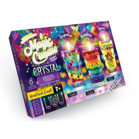 Набор креативного творчества ДАНКО-ТОЙС Свечи своми руками с кристаллами от 7 лет набор креативного творчества данко тойс diamond mosaic котята от 9 лет dm 01 10