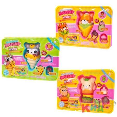 Игрушка Smooshy Mushy Школьный завтрак 9 предметов smooshy mushy игрушка антистресс smooshy mushy core питомец 2 серия