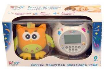 Игрушка-проектор звездного неба OLLY с совой summer infant светильник проектор звездного неба frog summer infant