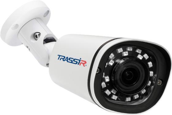 Фото - Камера IP Trassir TR-D2121IR3 CMOS 1/2.7 2.8 мм 1920 x 1080 H.264 RJ-45 PoE белый видеокамера ip trassir tr d2121ir3 1080p 2 8 мм белый