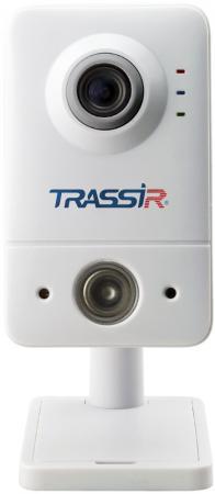 Видеокамера Trassir TR-D7121IR1W CMOS 1/2.7 2.8 мм 1920 x 1080 H.264 RJ-45 Wi-Fi белый