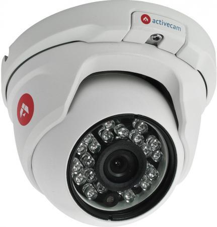 Видеокамера ActiveCam AC-D8111IR2 CMOS 1/3 3.6 мм 1280 x 960 H.264 RJ-45 PoE белый