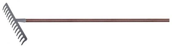 Грабли PALISAD 61789 с деревянным черенком стальные покрытые эпоксидом luxe грабли palisad 61770