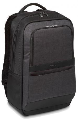 Купить Рюкзак для ноутбука 15.6 Targus CitySmart полиэстер черный серый TSB911EU, черный, серый