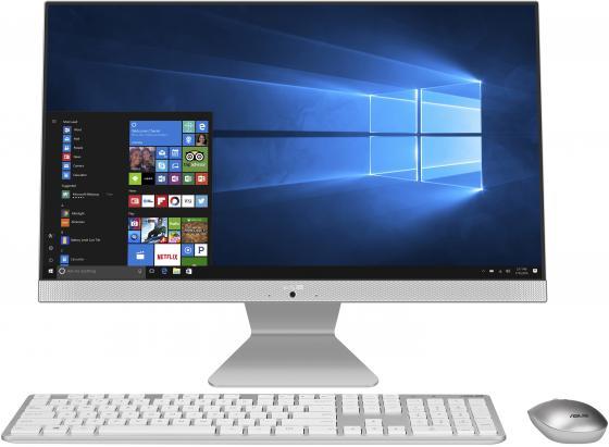 Моноблок Asus V241ICUK-WA132T 23.8 Full HD i3 8130U (2.2)/4Gb/1Tb 5.4k/Windows 10 Single Language/WiFi/BT/90W/клавиатура/мышь/Cam/белый 1920x1080 моноблок hp proone 400 g2 20 hd p g4400t 2 9 4gb 500gb 7 2k hdg510 dvdrw windows10 single language 64 eth wifi bt 90w клавиатура мышь cam черный