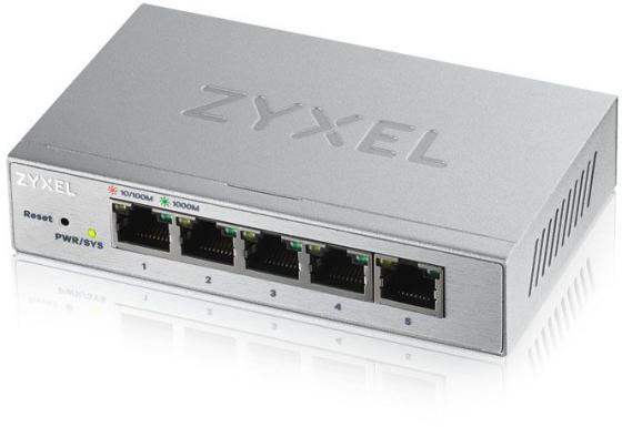 Коммутатор Zyxel GS1200-5 GS1200-5-EU0101F 5G управляемый