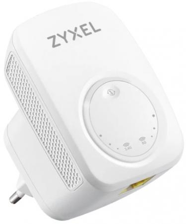 Повторитель беспроводного сигнала Zyxel WRE6505V2 (WRE6505V2-EU0101F) AC750 Wi-Fi белый повторитель беспроводного сигнала мост asus rp n12 белый