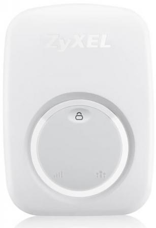 Повторитель Zyxel WRE2206 802.11bgn 300Mbps 2.4 ГГц 1xLAN LAN белый шлюз voip grandstream ht801 1xfxs 1xlan 10 100мб с