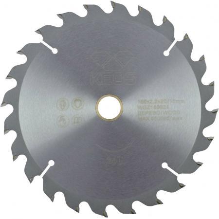 Круг пильный твердосплавный KEOS WB250.60 по дереву 250x30мм z60 круг алмазный keos dbs02 450