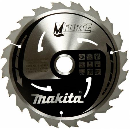 Фото - Диск пильный твердосплавный MAKITA B-31382 m-force ф235х30х2.3мм 20зуб д\\дер диск пильный твердосплавный makita b 31348