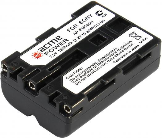 Аккумулятор для компактных камер и видеокамер AcmePower AP-NP-FM500 acmepower lp e10