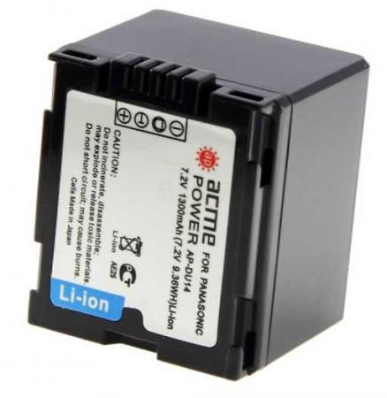 Аккумулятор для компактных камер и видеокамер AcmePower AP-DU14 аккумуляторы для камер smarterra аккумулятор для камер