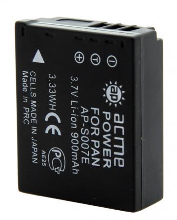 Аккумулятор для компактных камер и видеокамер AcmePower AP-S007E аккумулятор для компактных камер и видеокамер acmepower ap nb 11l