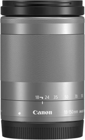 Фото - Объектив Canon EF-M IS STM (1376C005) 18-150мм f/3.5-6.3 серебристый samsung le spot canon casio olympus pentax fuji nikon leica benq panasonic haier patriot sony universal ef m 18 55mm f 3 5 5 6 is stm