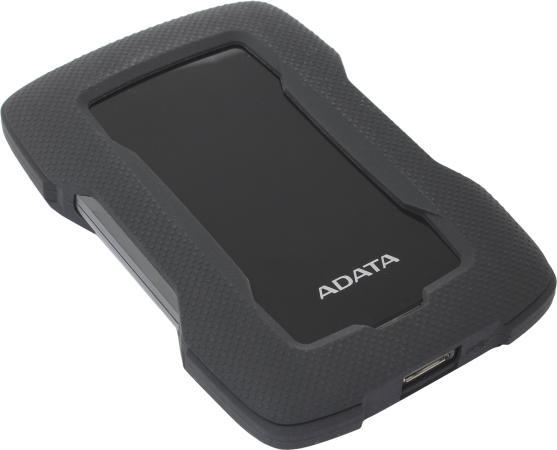 Жесткий диск A-Data USB 3.0 2Tb AHD330-2TU31-CBK HD330 DashDrive Durable 2.5 черный внешний жесткий диск hdd a data usb 3 0 2tb ahd330 2tu31 cbl hd330 dashdrive durable 2 5 синий