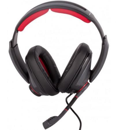 Фото - Игровая гарнитура проводная Sennheiser GSP 350 черный красный 507081 игровая