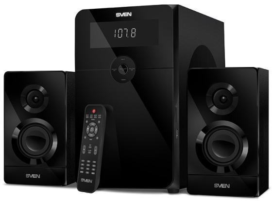 Колонки Sven MS-2250 2.1 черный 80Вт колонки sven ms 80 black