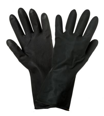 Купить Перчатки AIRLINE AWG-LS-10 латексные защитные от агрессивных жидкостей