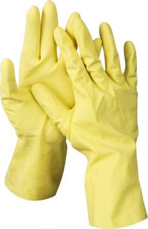 Перчатки DEXX 11201-L латексные х/б напыление рифлёные l перчатки хозяйственные euro house латексные х б напыление s 3700