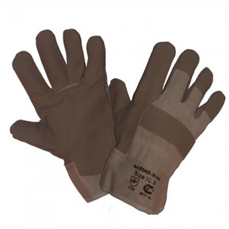 Перчатки NEWTON Brown per33 кожаные комбинированные